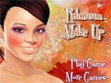 Juegos de vestir: Rihanna Make Up