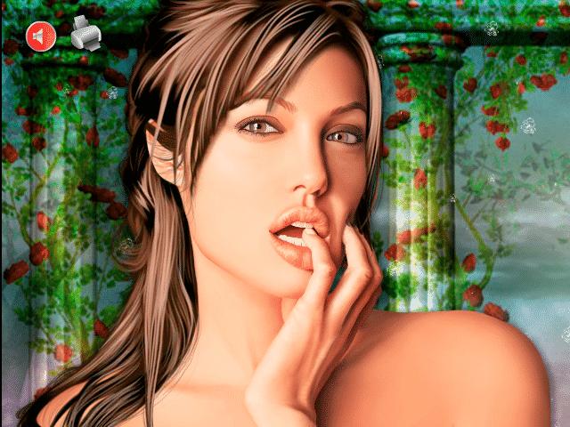 Juegos de vestir: Angelina Jolie Makeover - Juegos de vestir wapos