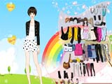 Juegos de vestir: Lovely Spring Dress Up