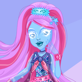 Monster High Kiyomi Haunterly Dress Up - Juegos de vestir gratis online para chicas