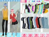Anime couple dress up game - Juegos de vestir y maquillar