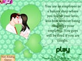 Bakery shop kissing - Juegos de vestir universitarias