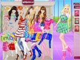 Juegos de Vestir: Barbie Colegiala