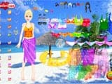 Beach girl dress up - Juegos de vestir viejos