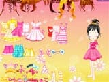 Birthday girl dress up - Juegos de vestir star sue