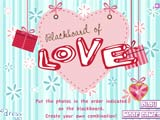 Blackboard of love - Juegos de vestir star sue