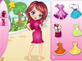 Blow bubbles girl dress up - Juegos de vestir kawaii