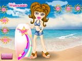 Bratz surfing