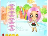 Candy girl dress up - Juegos de vestir y maquillar