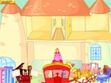 Cinderella house decoration