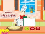 Cooking apple pie - Juegos de vestir one piece