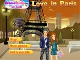 Couple in paris - Juegos de vestir one piece