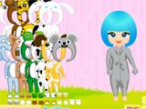 Cute animal costume - Juegos de vestir descendientes