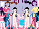 Cute girls dress up - Juegos de vestir y maquillar