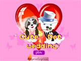 Cute pet wedding dress up - Juegos de vestir zootopia