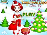 Erin in christmas carol dress up - Juegos de vestir universitarias