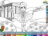 Evzone coloring