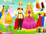 Fairytale prince and princess - Juegos de vestir princesas