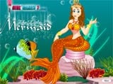 Fantasy mermaid dress up