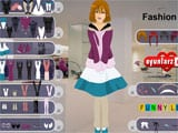 Fashion girl dressup - Juegos de vestir Monster High