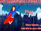Girl superhero dressup