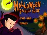Halloween fashion show