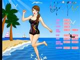 Happy summer bikini show