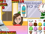 Ice cream party - Juegos de vestir wonder woman
