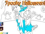Jack o lantern halloween coloring game - Juegos de vestir star sue