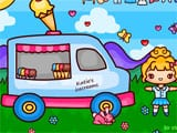 Katies ice cream van play set fun - Juegos de vestir y maquillar