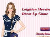 Leighton meester dress up - Juegos de vestir y maquillar