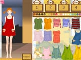 Long stocking girl dress up game - Juegos de vestir y maquillar