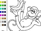 Monkeys coloring book