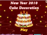 New years cake decoration - Juegos de vestir star sue