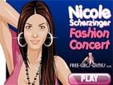Nicole scherzinger fashion concert