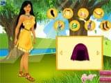 Juegos de Vestir: Pocahontas Dress Up