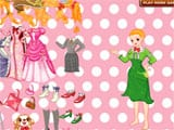 Pretty barbie dress up - Juegos de vestir wedding lily