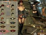 Pricilla pirate girl dressup