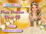 Prom princess dress up - Juegos de vestir hadas