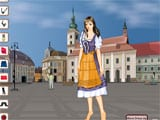 Romanian girl dress up - Juegos de vestir y maquillar