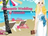 Romantic wedding at seaside - Juegos de vestir en la playa