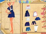 Sailor girl with a new look - Juegos de vestir a Rapunzel
