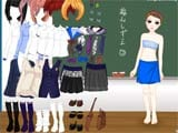 School time dress up game - Juegos de vestir star sue
