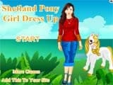 Shetland pony girl dress up - Juegos de vestir hadas