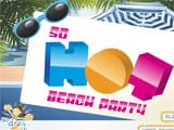 So hot beach party - Juegos de vestir hermanas