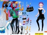 Sue party girl dress up - Juegos de vestir princesas