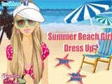 Summer beach girl - Juegos de vestir wonder woman