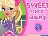 Sweet school makeup