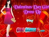 Valentines girl dress up - Juegos de vestir y maquillar