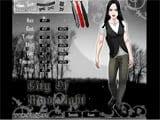 Vampire edward dressup game